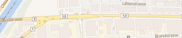 Karte Porsche Zentrum Zürich Schlieren