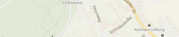 Karte Gästehaus Stein Loßburg