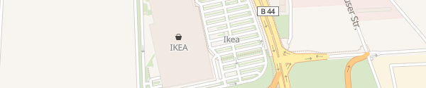 Karte IKEA Mannheim