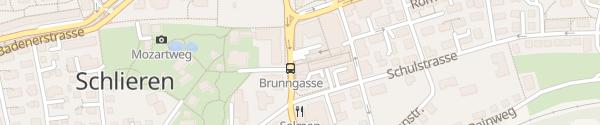 Karte Parkhaus Lilie-Zentrum Schlieren