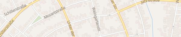 Karte Gemeindeverwaltung Nauheim