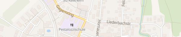 Karte Rathaus Kelkheim