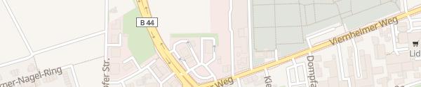 Karte McDonalds Filiale Mannheim