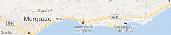 Karte Gemeindehaus Mergozzo