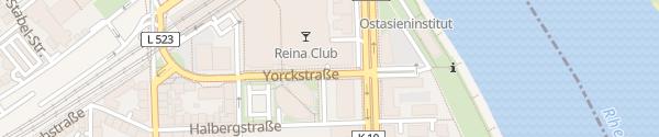 Karte Parkhaus Walzmühle Ludwigshafen