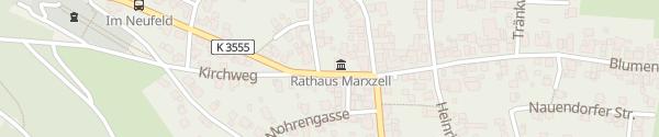 Karte Rathaus Marxzell-Pfaffenrot