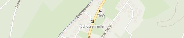 Karte Schützenhaus Langewiese Winterberg