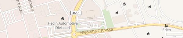 Karte Coop Einkaufszentrum Dielsdorf