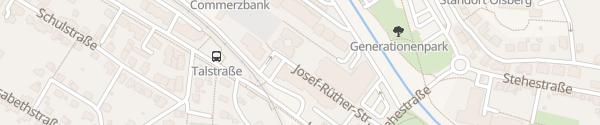Karte Rathaus Olsberg