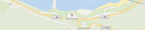 Karte Gasthof Seeheiner Seewald