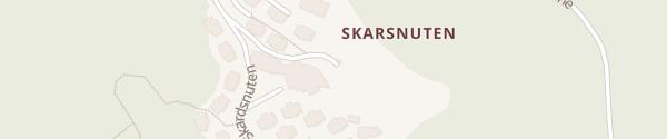 Karte Skarsnuten Hotel Hemsedal