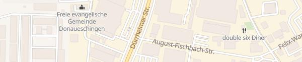 Karte emobil.center Donaueschingen