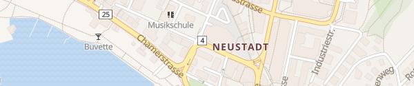Karte Bundesplatz Zug