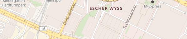Karte Westpark Zürich
