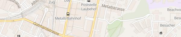 Karte Metalli Zug