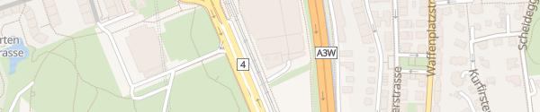 Karte Sihlcity Zürich