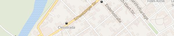 Karte Parkplatz Schillerstraße Ketsch