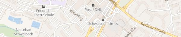 Karte Westring Schwalbach