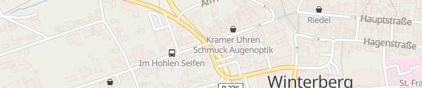 Karte Am Waltenberg Winterberg