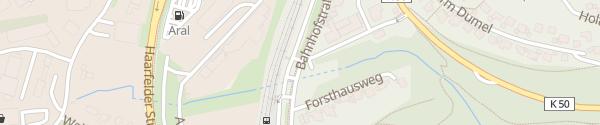Karte Bürgerbahnhof Winterberg