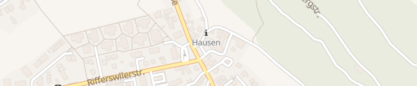 Karte Hotel Löwen Hausen am Albis