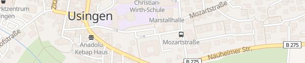 Karte Parkplatz Innenstadt Usingen