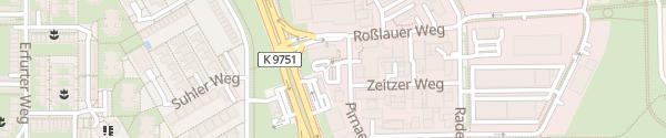 Karte McDonalds Mannheim
