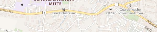 Karte Hüttenkopfstrasse Zürich
