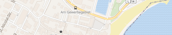 Karte Rathaus Parkdeck Wyk auf Föhr