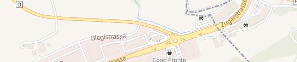 Karte McDonald's Sihlbrugg