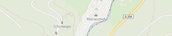 Karte Kleinenzhof Bad Wildbad