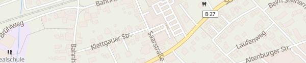 Karte dm Saarstraße Jestetten