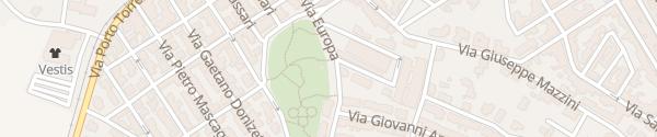 Karte Parco Pubblico di Sorso Sorso