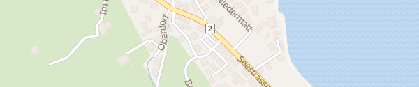Karte Bergstrasse Lauerz