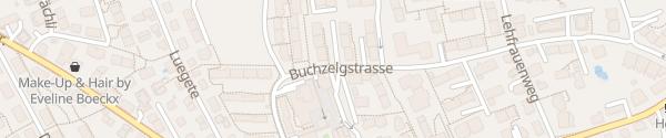 Karte Zentrum-Parkhaus Witikon Zürich