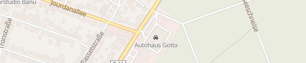 Karte Autohaus Gotta Mörfelden-Walldorf