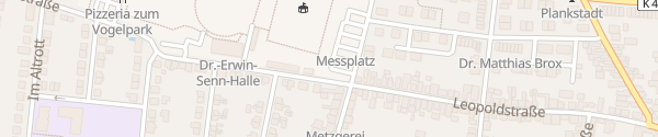 Karte Festplatz Plankstadt