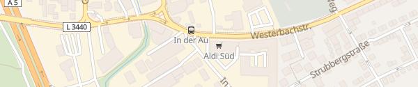 Karte ALDI Süd Westerbachstraße Frankfurt am Main