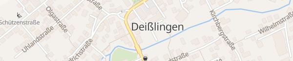 Karte Volksbank Deisslingen Deißlingen