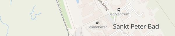Karte StrandGut Resort Sankt Peter-Ording