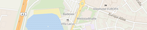 Karte Badesee Bensheim