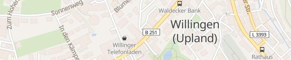 Karte Göbels Landhotel Willingen
