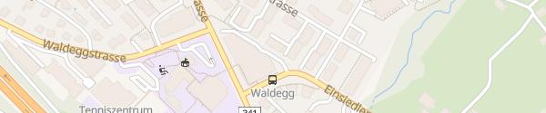 Karte Parkgarage COOP Waldegg Horgen