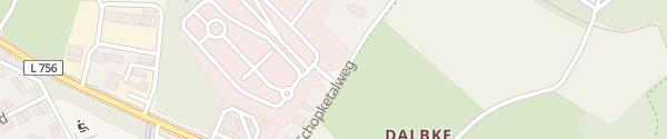 Karte Verkehrsübungsplatz Bielefeld