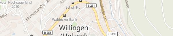 Karte Altes Doktorhaus Willingen