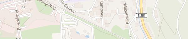 Karte Hotel Hochheide Willingen