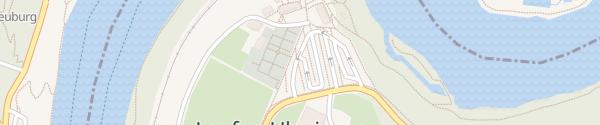 Karte Parkplatz Schloss Laufen Dachsen
