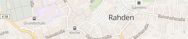 Karte innogy Ladesäule Rahden