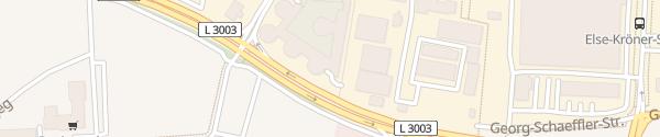 Karte Ludwig-Erhard-Anlage Bad Homburg