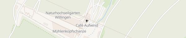 Karte Mühlenkopfschanze Willingen (Upland)